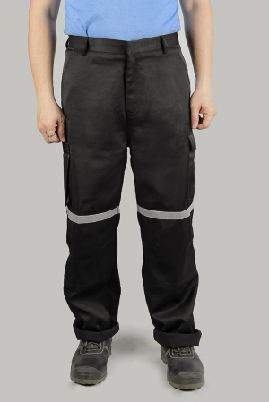 Cargo Pants with Reflective Tape