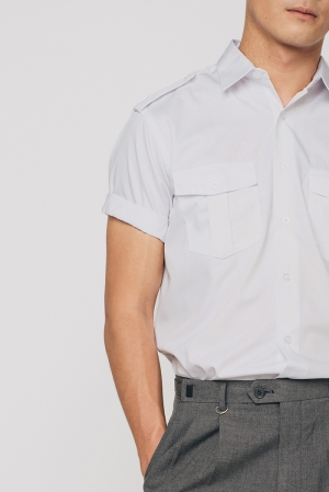 Shirt with Epaulette